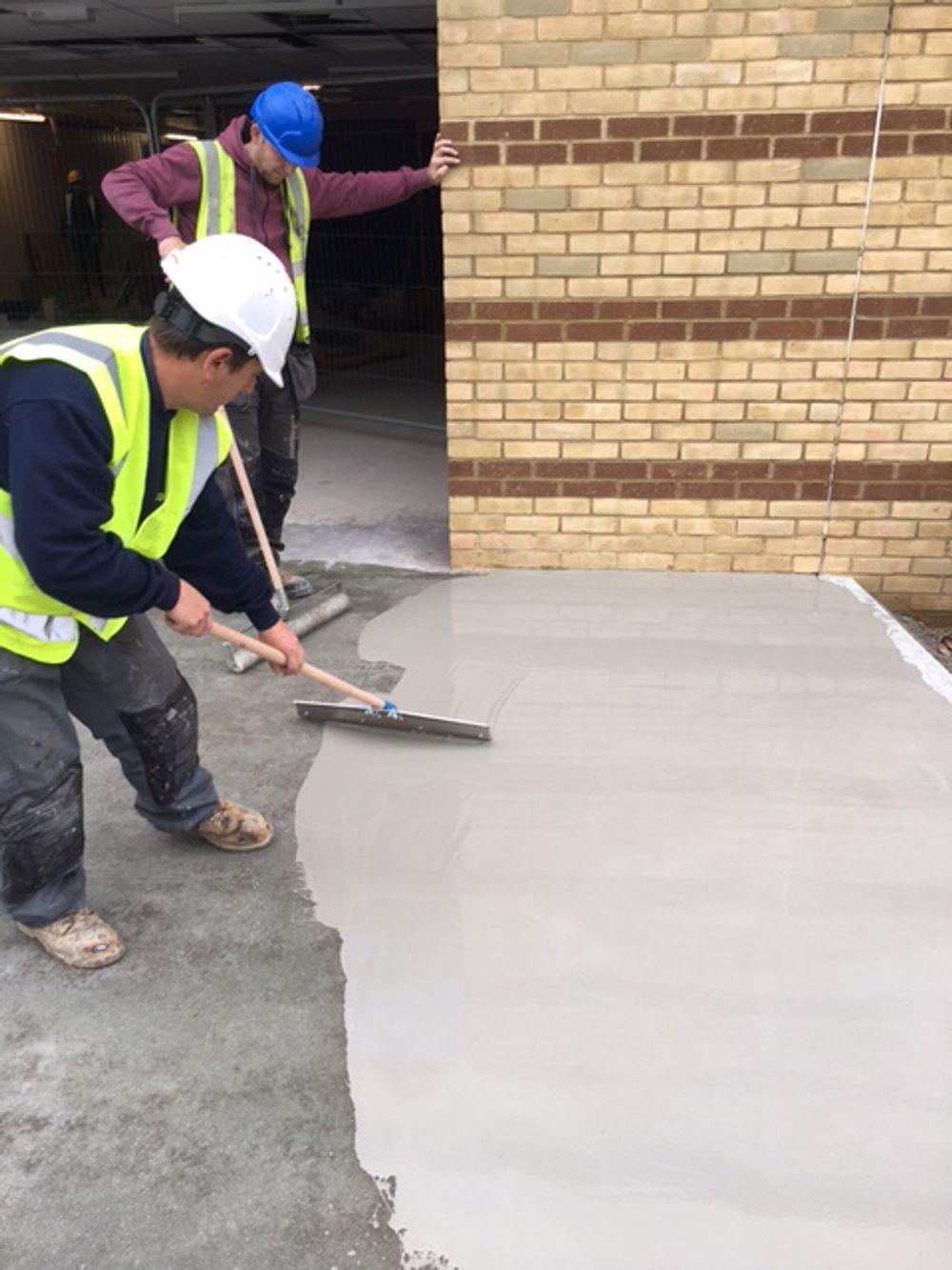 Epoxy/Cement Coating